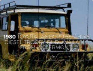 1980 Toyota Land Cruiser for sale by Nelson Wells